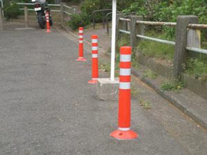 横浜市西区境ノ谷100番地 駐禁対策