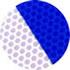 リブ 反射シートカラー 青