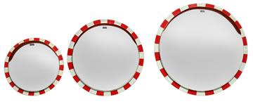 リブミラー丸型鏡面サイズ比較写真