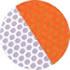 リブ 反射シートカラー オレンジ